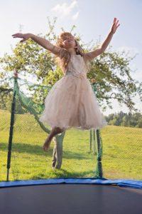trampolina dla dziecka