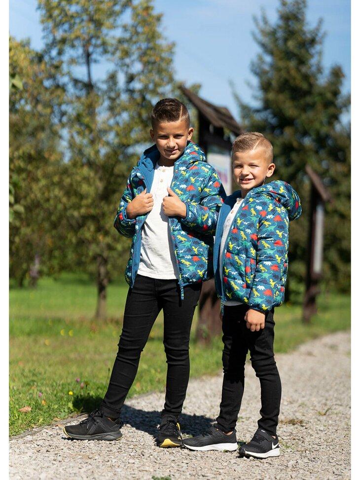 dziecięce kurtki chłopięce - na jesień i zimę